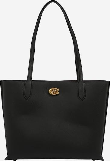 COACH Shopper 'leather willow tote' en negro, Vista del producto