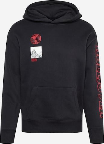 HOLLISTER Sweatshirt in Schwarz