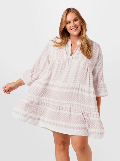 Rochie tip bluză 'Lola' Z-One pe bej / roz pal, Vizualizare model