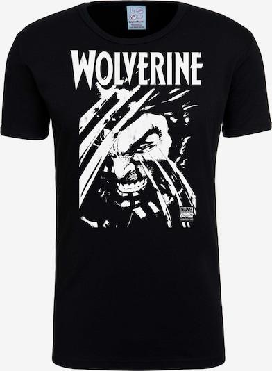 LOGOSHIRT T-Shirt 'Wolverine' in schwarz, Produktansicht