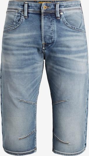 JACK & JONES Lange Jeansshorts in blau, Produktansicht