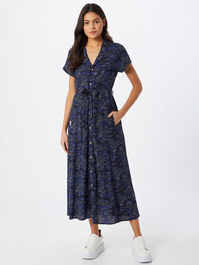 Iriedaily Kleid in blau / navy / weiß, Modelansicht