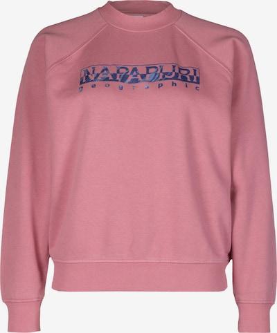 NAPAPIJRI Sweatshirt in blau / rosa, Produktansicht