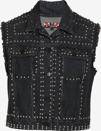 myMo ROCKS Jeansweste in schwarz, Produktansicht