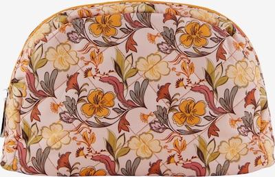 PIECES Kosmetiktasche 'Jiona' en beige / mélange de couleurs, Vue avec produit