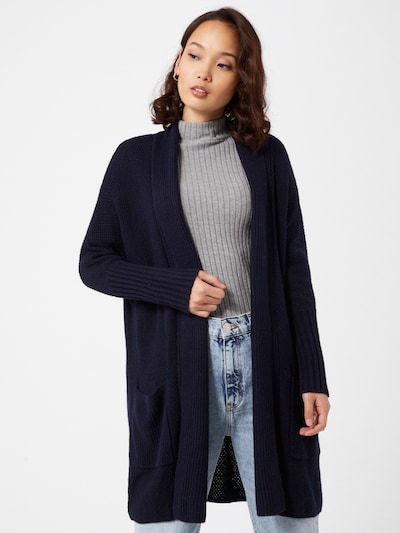 ESPRIT Strickjacke in navy, Modelansicht