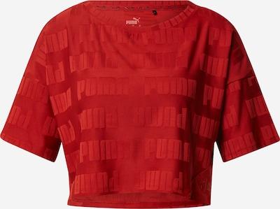 PUMA Toiminnallinen paita 'Train First Mile' värissä punainen, Tuotenäkymä
