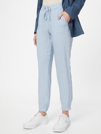 TOM TAILOR Kalhoty - modrá / bílá, Model/ka