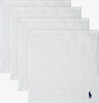 RALPH LAUREN Waschlappen 'POLO PLAYER' in weiß, Produktansicht