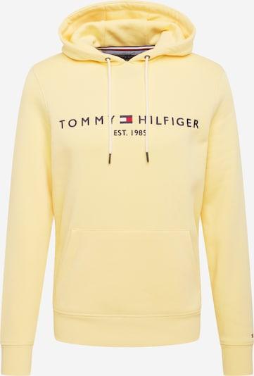 TOMMY HILFIGER Majica | rumena / črna barva, Prikaz izdelka