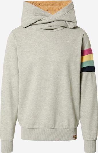 Fli Papigu Sweatshirt 'Der 31' in navy / pastellblau / limone / graumeliert / eosin, Produktansicht