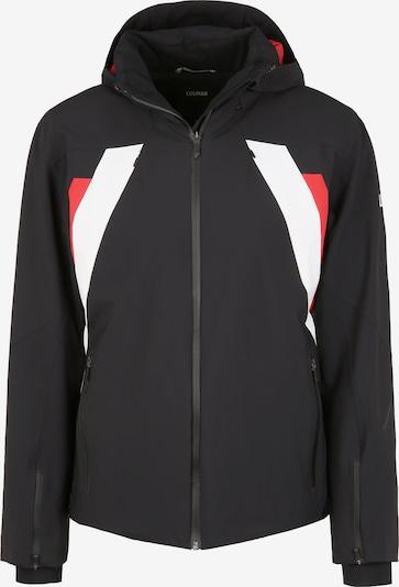 Colmar Skijacke 'EVOSTRETCH' in mischfarben / rot / schwarz / weiß, Produktansicht