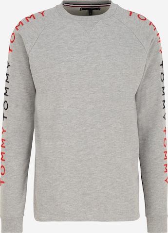 Tommy Hilfiger Underwear Sweatshirt 'Track' i grå