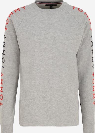 Tommy Hilfiger Underwear Sweatshirt 'Track' in navy / graumeliert / rot, Produktansicht