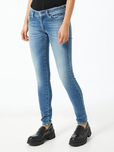 DIESEL Jeans 'SLANDY' in blue denim: Frontalansicht