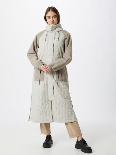 Palton de primăvară-toamnă 'Baltimore' JUST FEMALE pe bej / gri, Vizualizare model