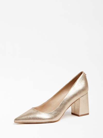 GUESS Pumps in gold: Frontalansicht
