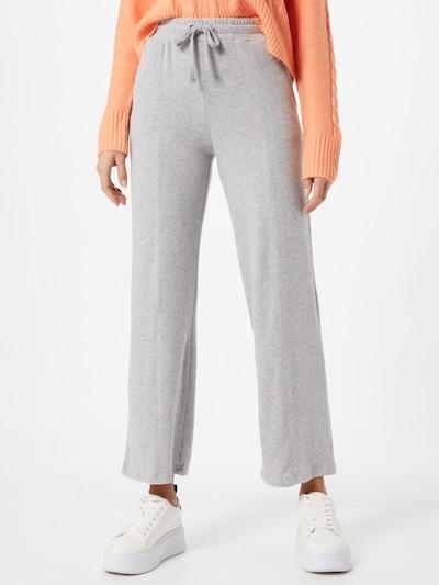 ICHI Pantalon en gris chiné, Vue avec modèle