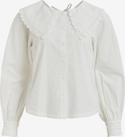 Bluză 'Damka' VILA pe alb, Vizualizare produs