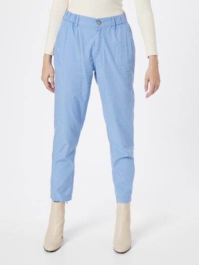 s.Oliver Chino kalhoty - světlemodrá, Model/ka