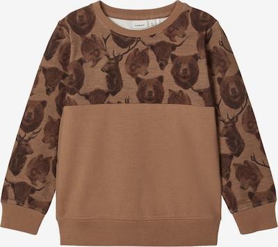 NAME IT Sweatshirt in braun / bronze, Produktansicht