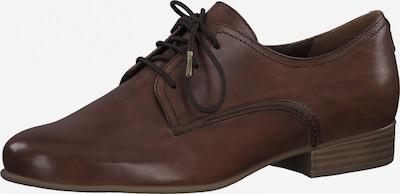 Pantofi cu șireturi TAMARIS pe ciocolatiu, Vizualizare produs