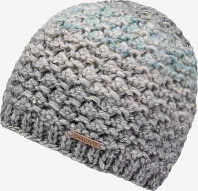 chillouts Mütze 'Nikola' in blau / grau, Produktansicht