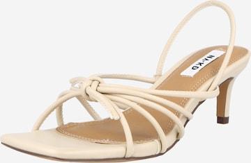 NA-KD Sandaler i beige