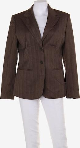 Basic Line Blazer in M in Brown