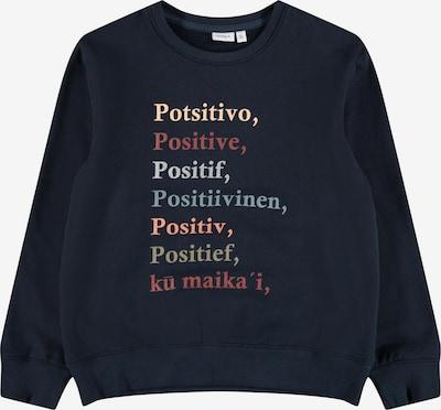 NAME IT Sweatshirt 'Lotal' in navy / mischfarben, Produktansicht