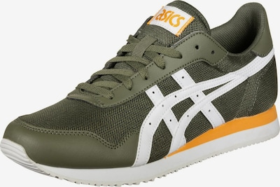 Sneaker low 'Tiger' ASICS SportStyle pe kaki / portocaliu / alb, Vizualizare produs