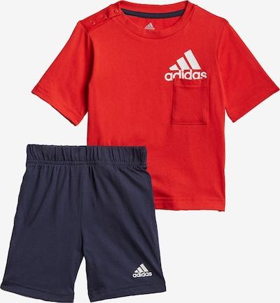 ADIDAS PERFORMANCE Set 'Badge of Sport' in marine / rot / weiß, Produktansicht