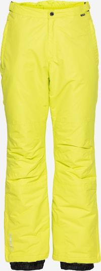 ICEPEAK Ulkoiluhousut 'TRAVIS' värissä neonkeltainen, Tuotenäkymä