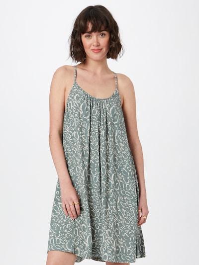 VERO MODA Kleid in pastellgrün / weiß, Modelansicht