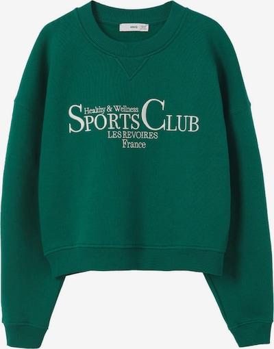 MANGO Sweatshirt in pastellgrün / weiß, Produktansicht