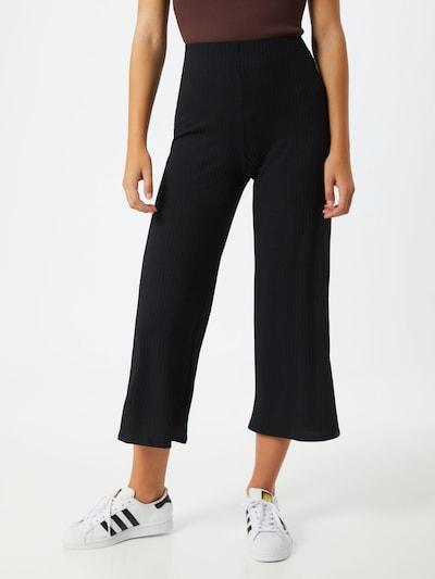 NEW LOOK Hose 'Carly Rib Crop' in schwarz, Modelansicht