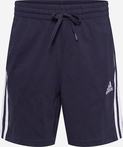 ADIDAS PERFORMANCE Sportbroek in de kleur Nachtblauw / Wit, Productweergave