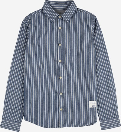 Jack & Jones Junior Overhemd in de kleur Donkerblauw / Wit, Productweergave
