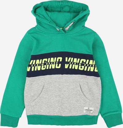 VINGINO Sweatshirt 'Nevy' in gelb / graumeliert / jade / schwarz, Produktansicht