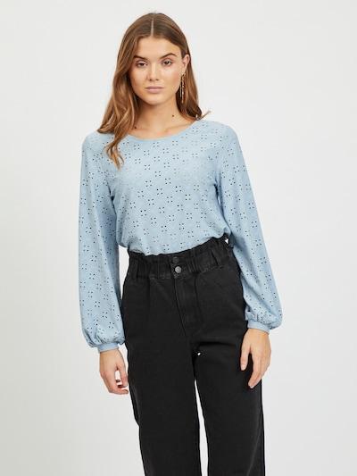 VILA Blouse 'Tressy' in de kleur Lichtblauw, Modelweergave