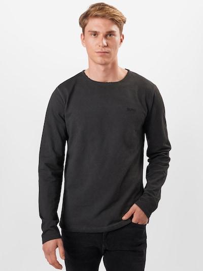 Maglietta 'Scotty' tigha di colore nero: Vista frontale