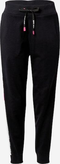 ESPRIT SPORT Sportske hlače u ciklama / crna / bijela, Pregled proizvoda