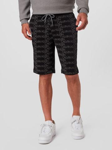 Calvin Klein Shorts in Schwarz
