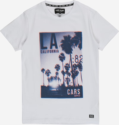 Cars Jeans Shirt 'SVEN' in de kleur Marine / Wit, Productweergave