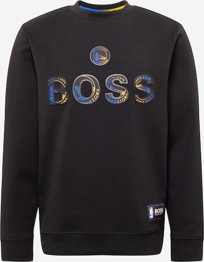 BOSS Casual Sweater majica 'Windmill 2' u plava / žuta / prljavo roza / crna, Pregled proizvoda