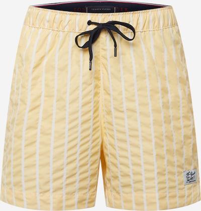 Tommy Hilfiger Underwear Shorts de bain en orange / blanc, Vue avec produit
