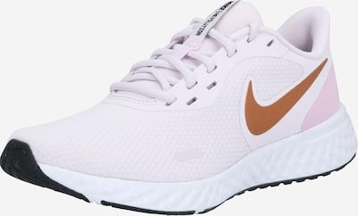 NIKE Chaussure de course 'Revolution 5' en orange / rose / blanc, Vue avec produit