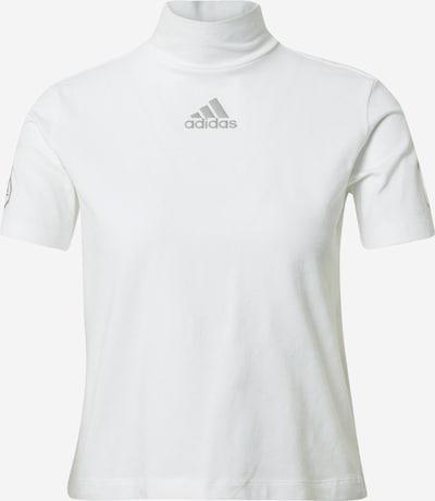 ADIDAS PERFORMANCE Λειτουργικό μπλουζάκι σε γκρι / λευκό, Άποψη προϊόντος