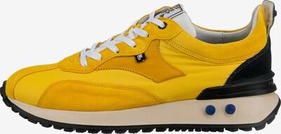 Floris van Bommel Sneaker ' Vinti' in blau / gelb / schwarz / weiß, Produktansicht