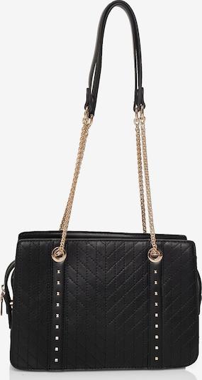 Emma & Kelly Umhängetasche aus hochwertigem Polyurethan in schwarz, Produktansicht